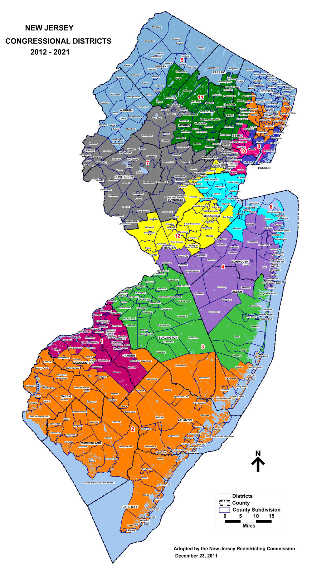 New Jersey 2014 Primary Election