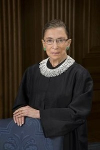 Ruth Bader Ginsburg official United States Supreme Court portrait.