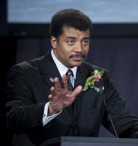 Director of the Hayden Planetarium Neil deGrasse Tyson speaks as host of the Apollo 40th anniversary celebration held at the National Air and Space Museum, Monday, July 20, 2009 in Washington. Photo Credit: (NASA/Bill Ingalls)