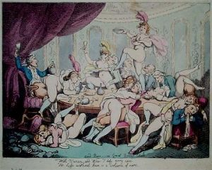 Painting by Thomas Rowlandson