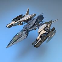 Spaceship by Mehmet Pinarci