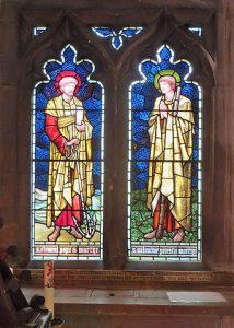 Ilford Hospital chapel windows.
